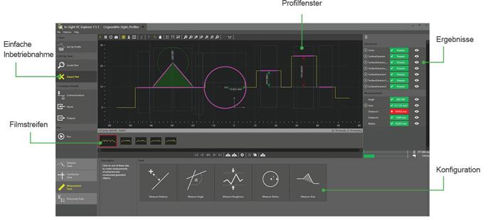 In-Sight Laser Profiler Easybuilder Software German