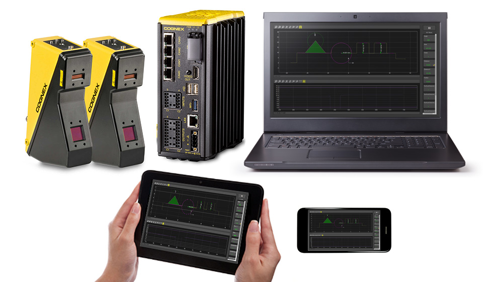 Monitor production line activity from anywhere on the factory floor