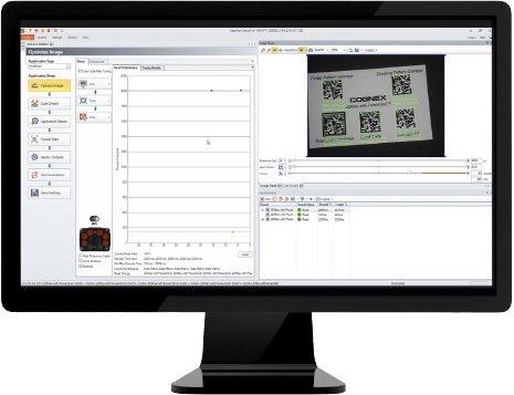 DataMan Setup Tool Screen on computer