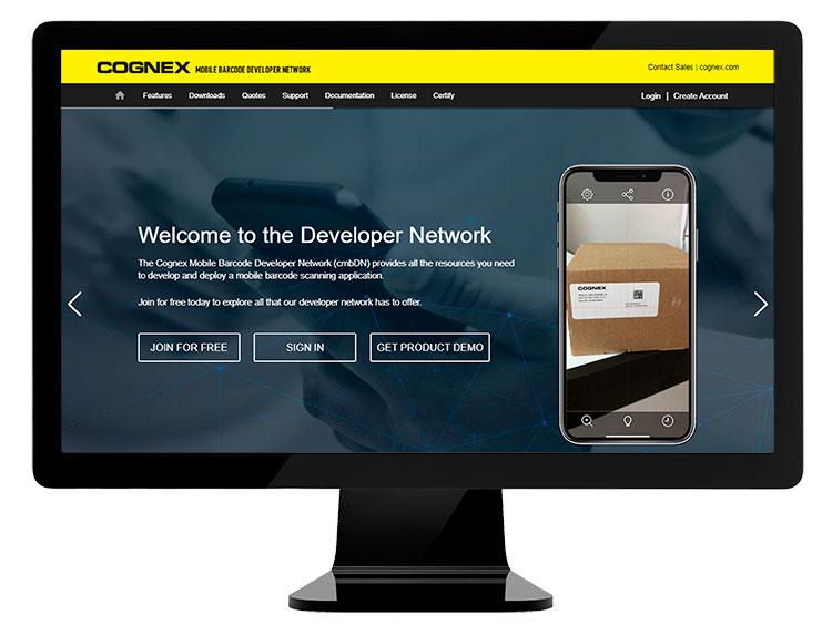 Cognex Mobile Barcode Developer Network