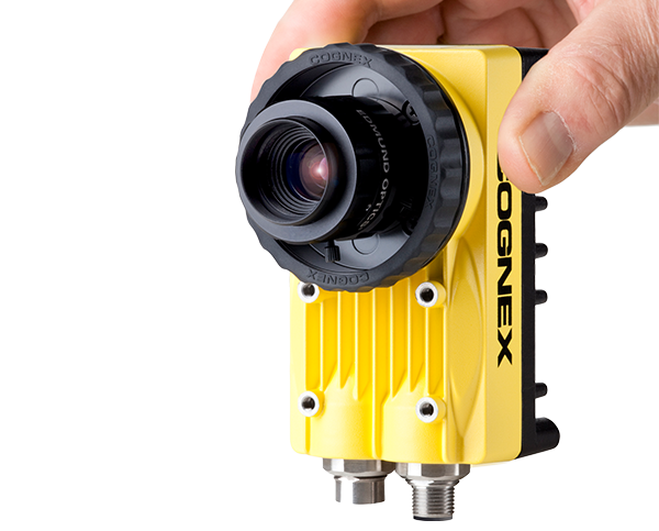 hand holding cognex insight 5707