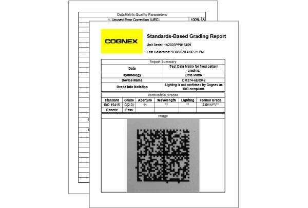 Standards-based grading report