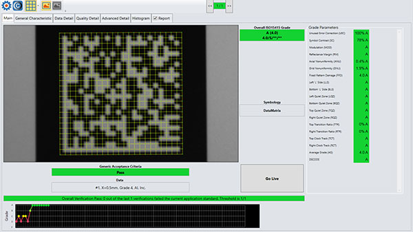 Standards-based grading software screenshot