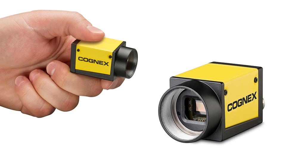 Cognex Industrial Cameras (CIC) held and displayed