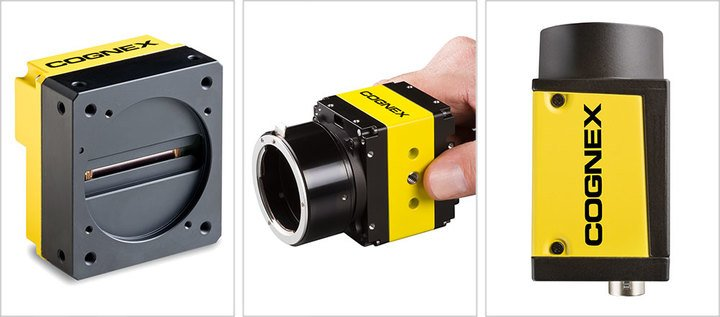 line scan and area scan CICs, Cognex Industrial Cameras