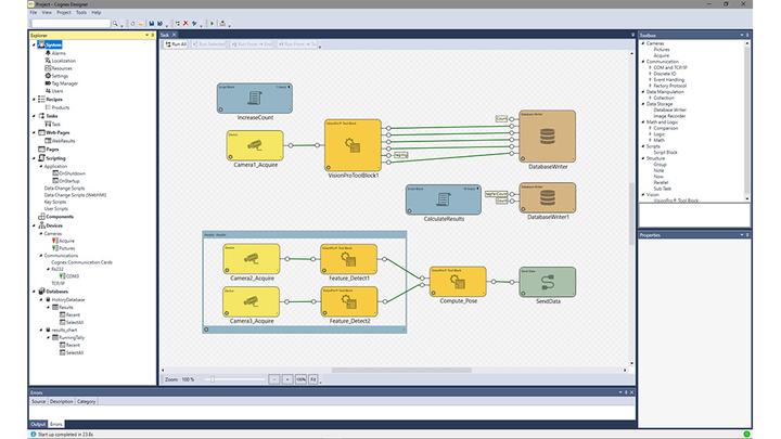 Cognex Designer Software screen shot