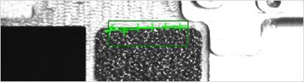 LineMax green identified edge