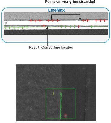 LineMax edge detection tool