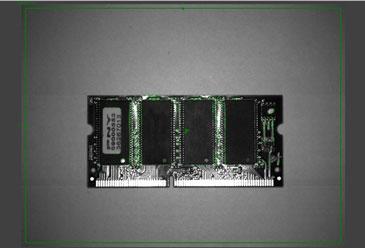 PatMax Redline identifying numerous segments of circuit board