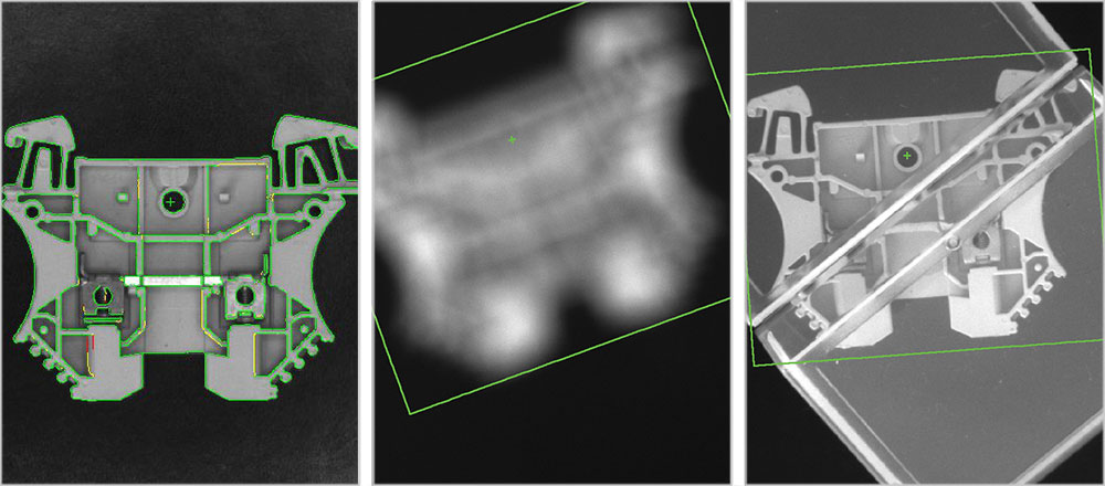 Cognex Pattern-Matching Machine Vision Tools find part when blurry and part obscured