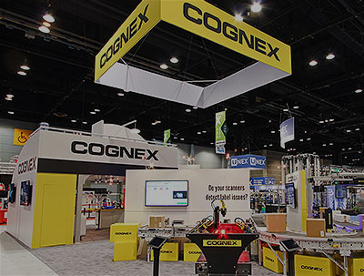 Cognex tradeshow event booth