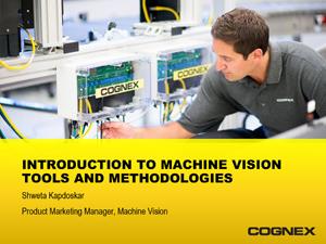 Intro to Machine Vision tools webinar