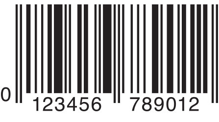 EAN 13 Barcode symbology example