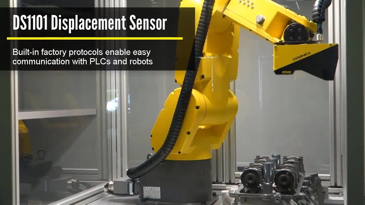 In-Sight Profiler - Robot Mounted Engine Block Inspection