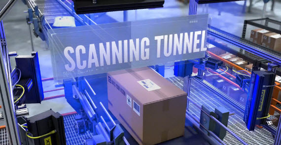 cn High Speed Tunnel Scanning