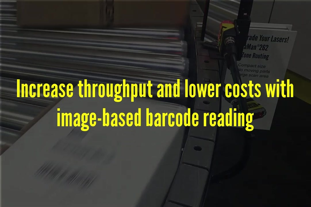 Cognex DataMan barcode readers track packages with 999 read rates