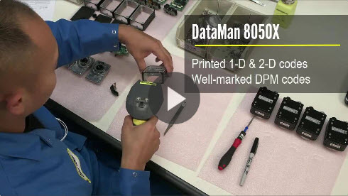 DataMan 8050X in Electronics Assembly