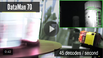 High-Speed Barcode Reading with the DataMan 70