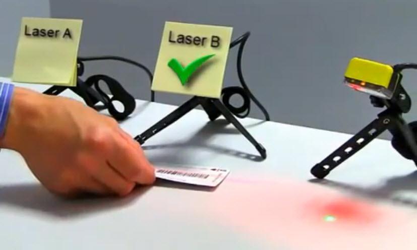 Image-based barcode reader vs laser scanners