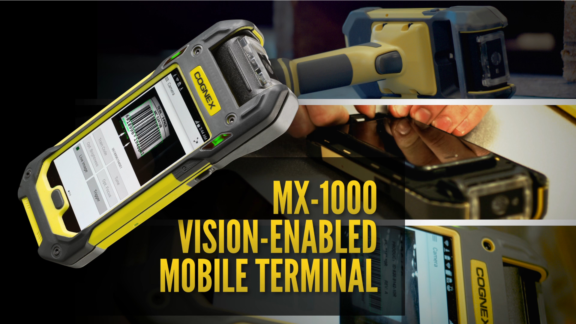 MX-1000 Vision-enabled Mobile Terminal for Courier and Parcel Delivery Applications