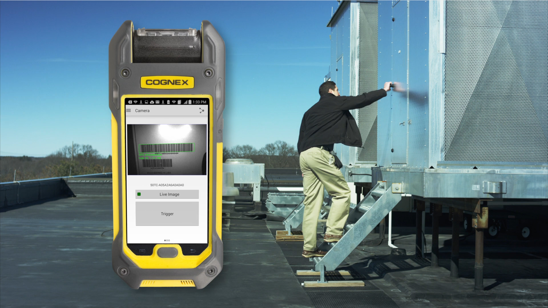 MX-1000 Vision-enabled Mobile Terminal for Field Service Applications