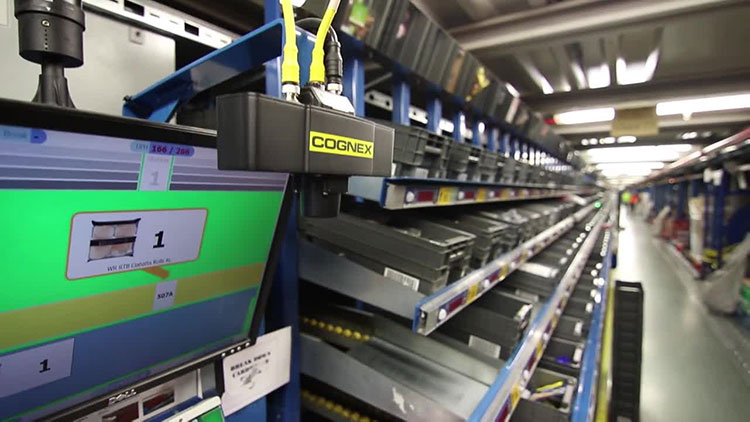 Ocado uses Cognex DataMan Barcode Readers to increase throughput