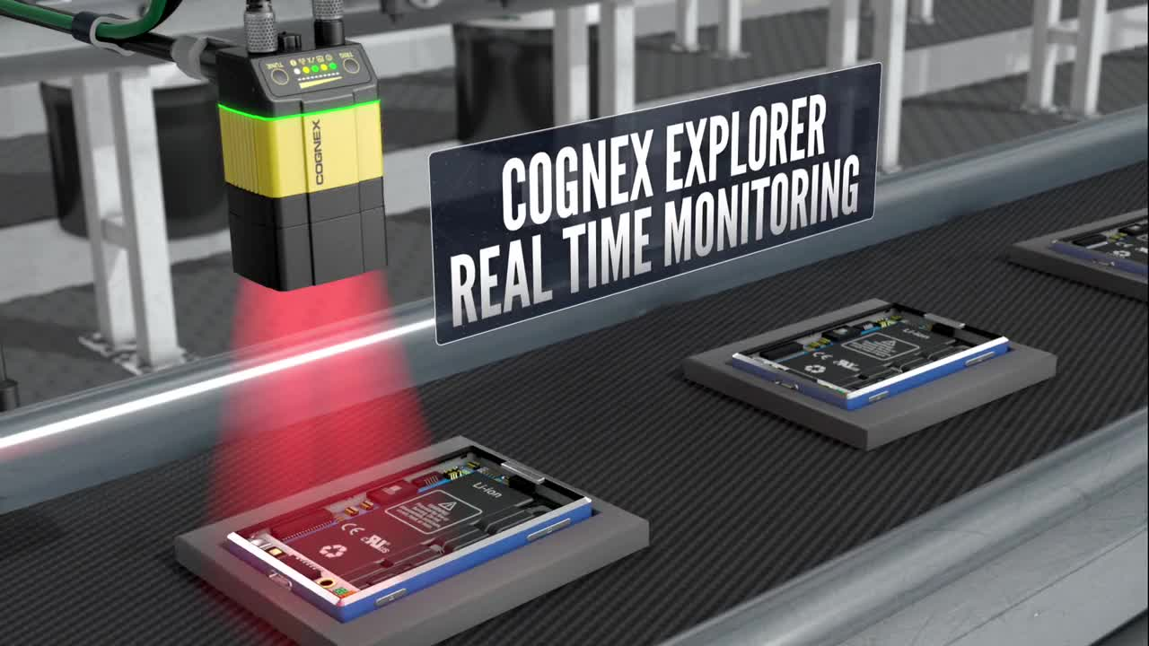 Cognex Explorer Real Time Monitoring
