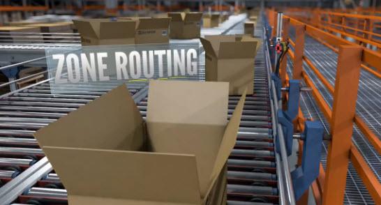 Zone Routing  Presentation Scanning