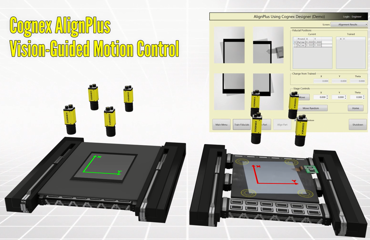 AlignPlus Vision-Guided Motion Control