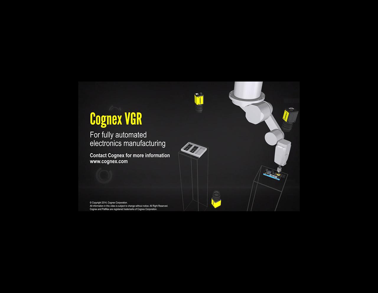 Cognex Vision for Automated Robotics
