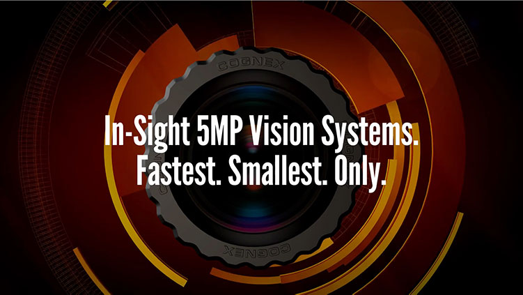 In-Sight 5MP Vision Systems with PatMax Redline