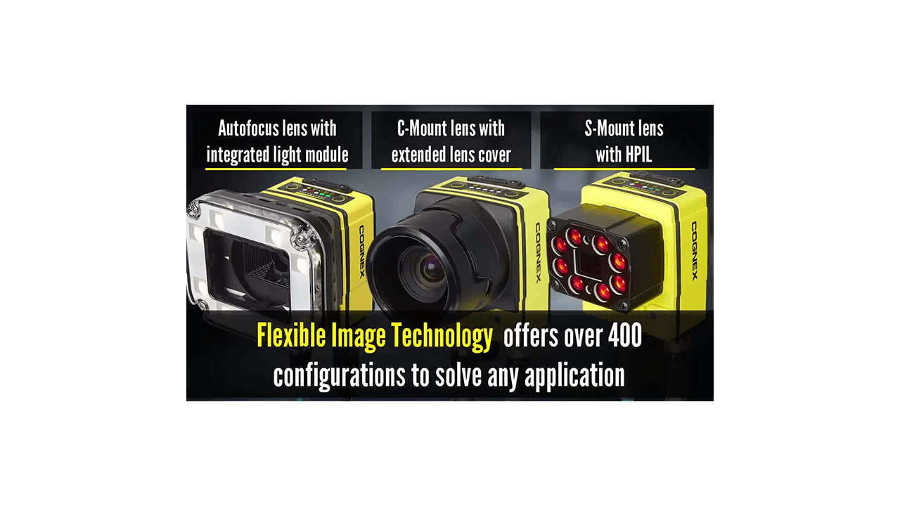 In-Sight 7000 Flexible Image Technology - Build Your Vision
