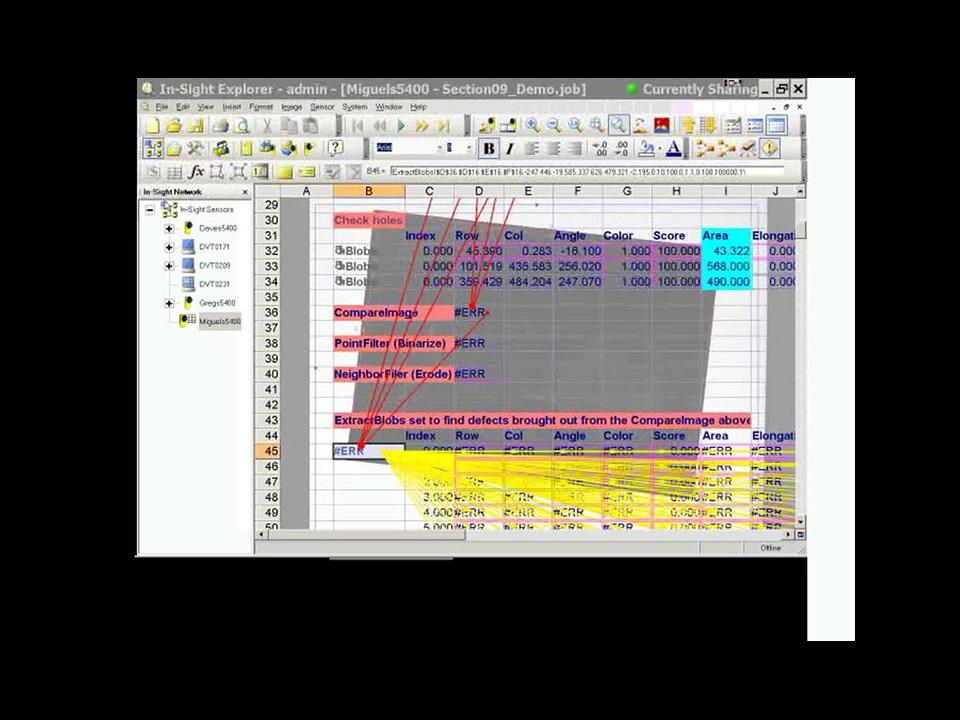 In-Sight Explorer - Application Development