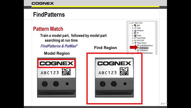 In-Sight Explorer - Logic and FindPatterns