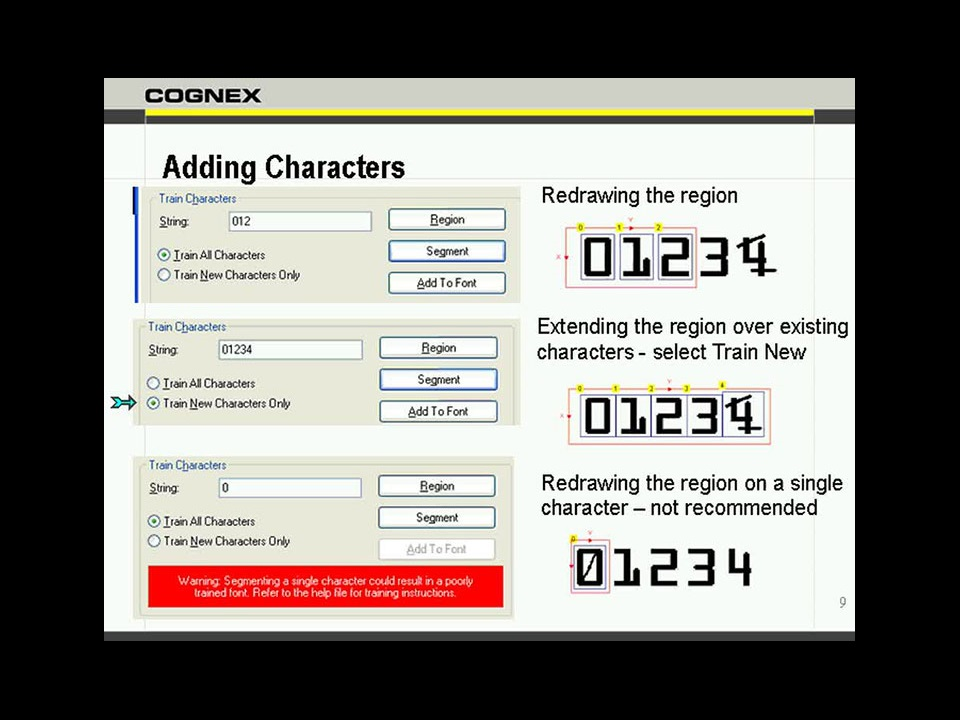 In-Sight Explorer - Optical Character Verification and Recognition