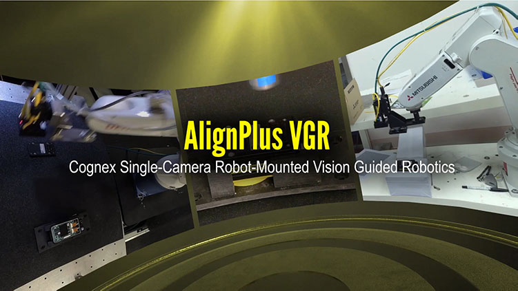 In-Sight VGR Single Camera Robotic Guidance