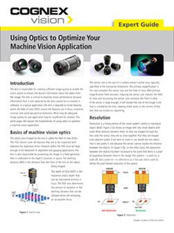 Expert_Guide_Vision_Optics_for_ Applications_EN