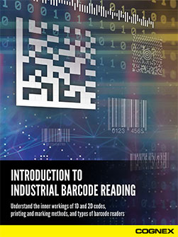 Introduction to Industrial Barcode Reading