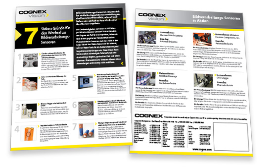 Seven Reasons to Switch to Vision Sensors Whitepaper