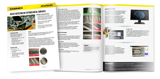 Defect Detection on Textured Metal Surfaces Whitepaper