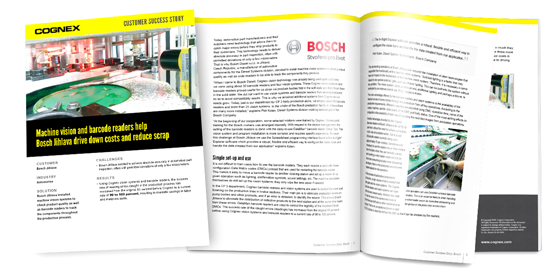 Machine Vision and Barcode Readers Help Drive Down Costs Whitepaper