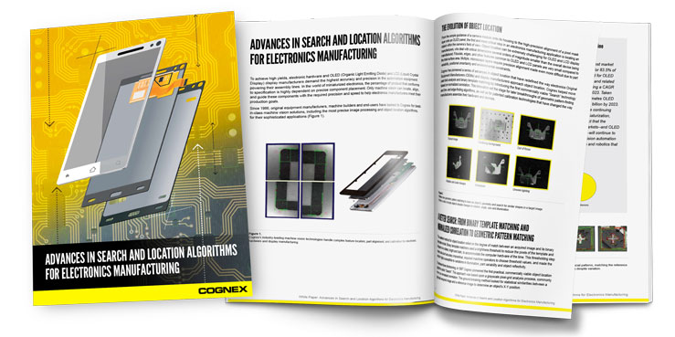 Advances in Search and Location Algorithms for Electronics Manufacturing Whitepaper