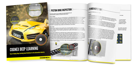 Cognex Deep Learning Automotive Application Guide
