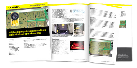 In-Sight Provides Optical Control of Lasered Codes on PCBs Whitepaper