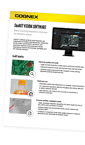 SuaKIT Vision Software datasheet