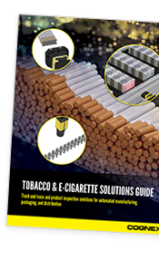 Cognex Tobacco Solutions Guide