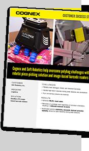 Cognex customer success story robotic piece picking