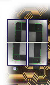 PatMax AlignPlus using multiple images to make 1 full product inspection