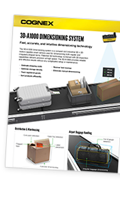 3D-A1000 Dimensioning System Datasheet