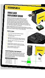 DSMax Laser Displacement Sensor Datasheet